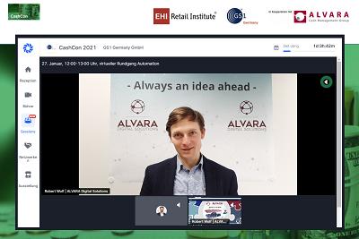 Robert Wolf présente ALVARA | Digital Solutions au CashCon 2021.